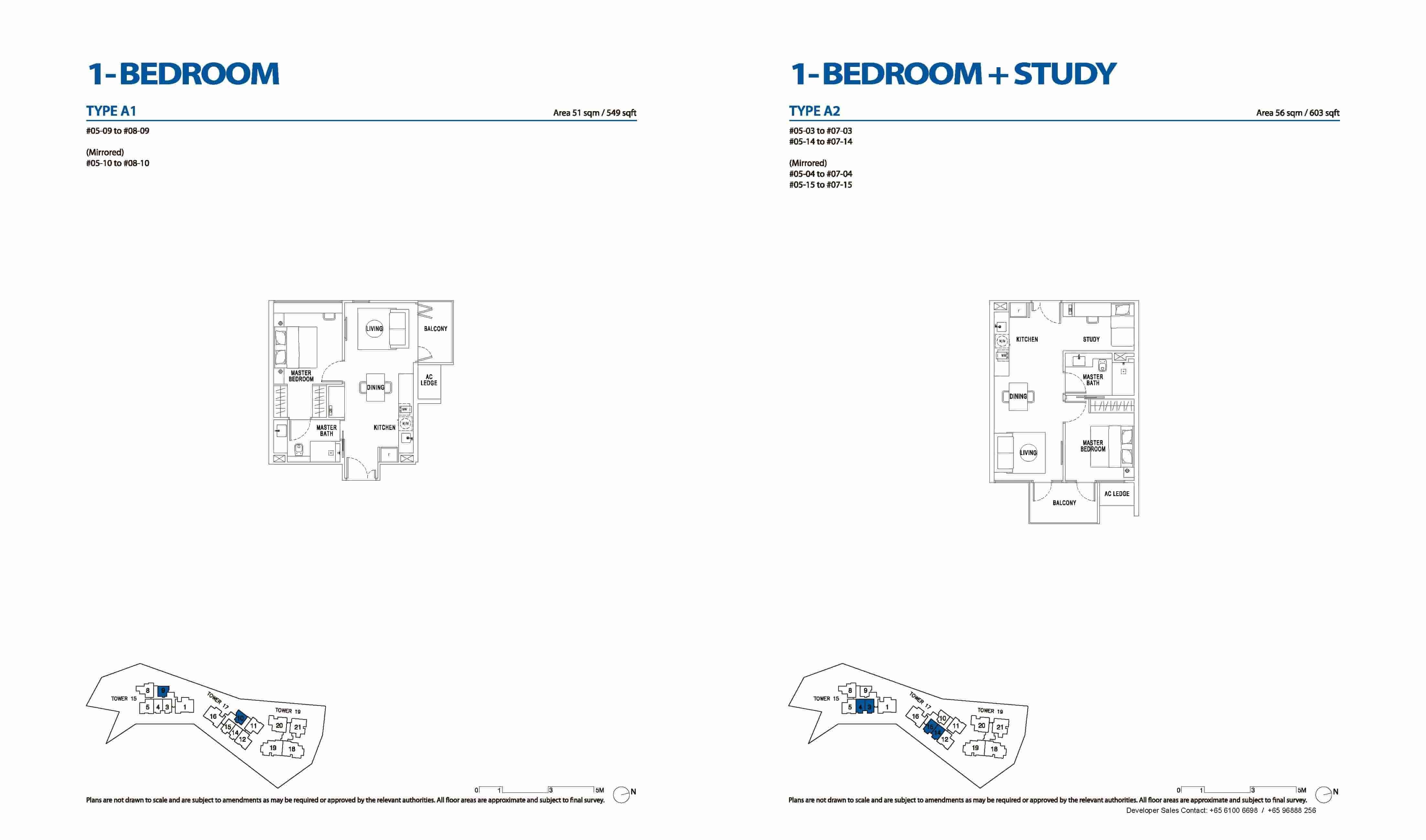 Type A1 & A2 1 & 1+Study