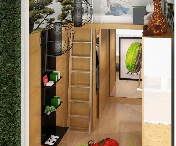 spottiswoode suites_2 Bdrm - Kids Room