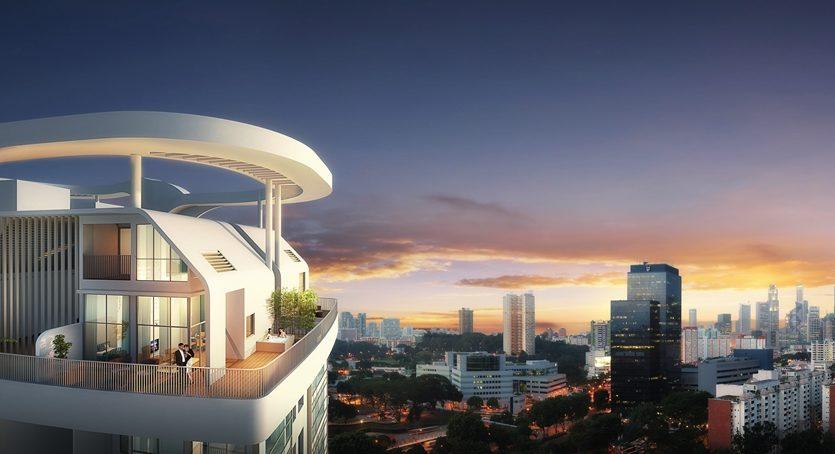 spottiswoode suites_Penthouse_House_View