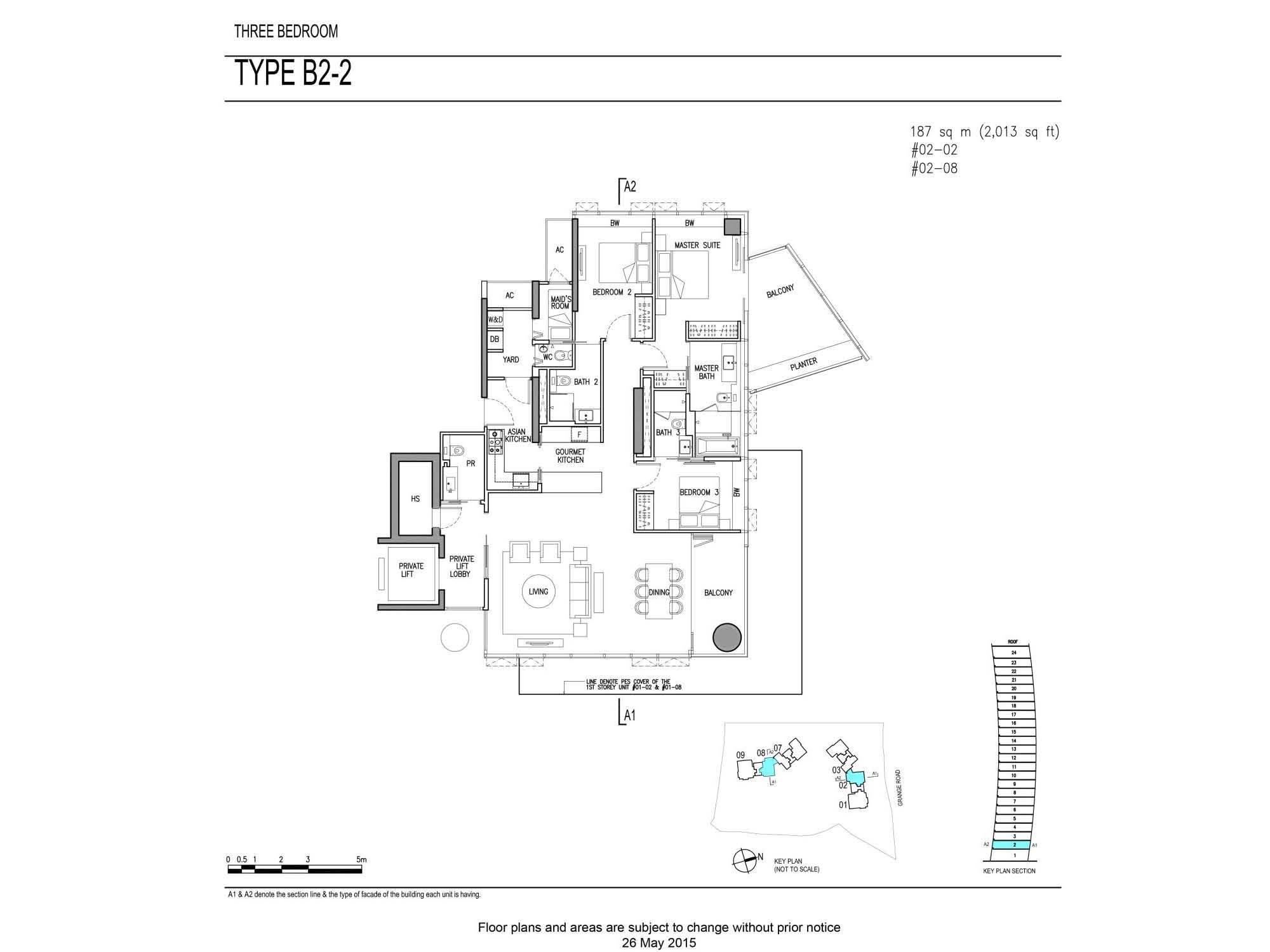 3Bdrm Type B2-2