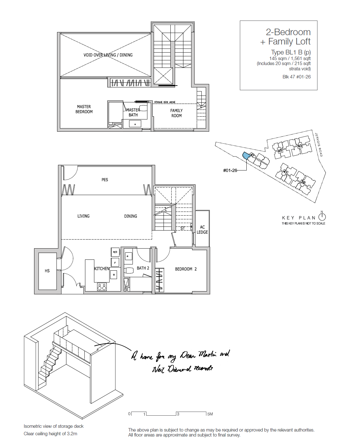 Type BL1A - 2 Bedroom + Family Loft