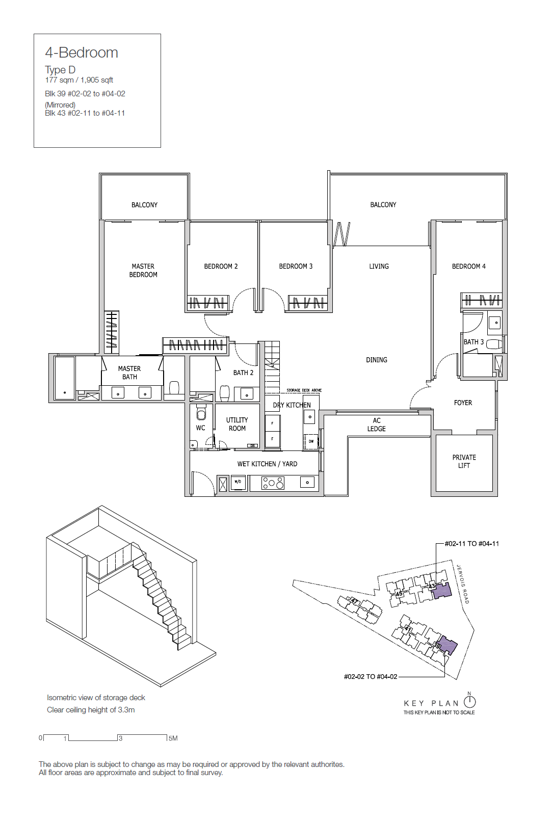 Type D1 - 4 Bedroom