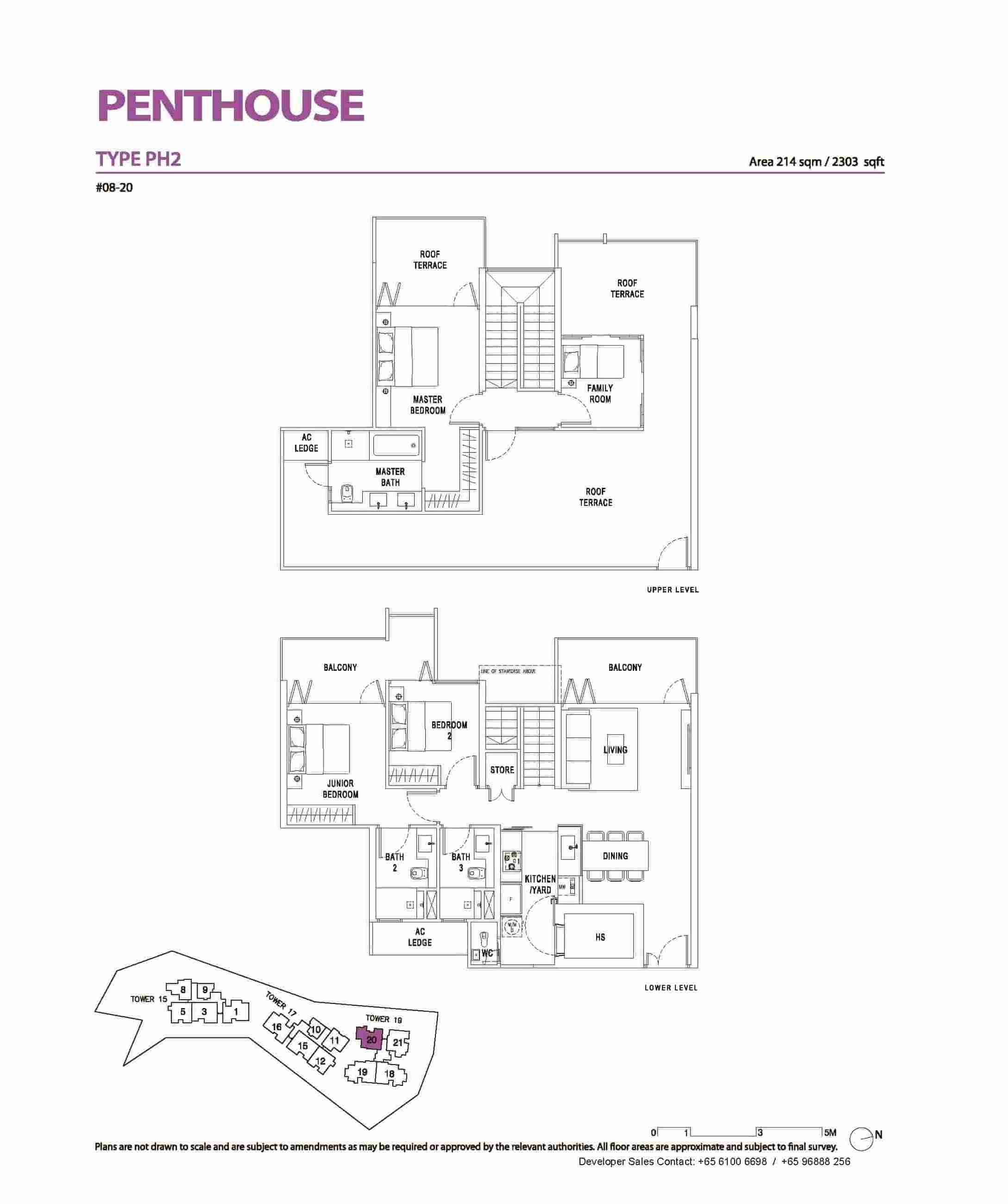 Type PH2 - 3+ FamilyPenthouse