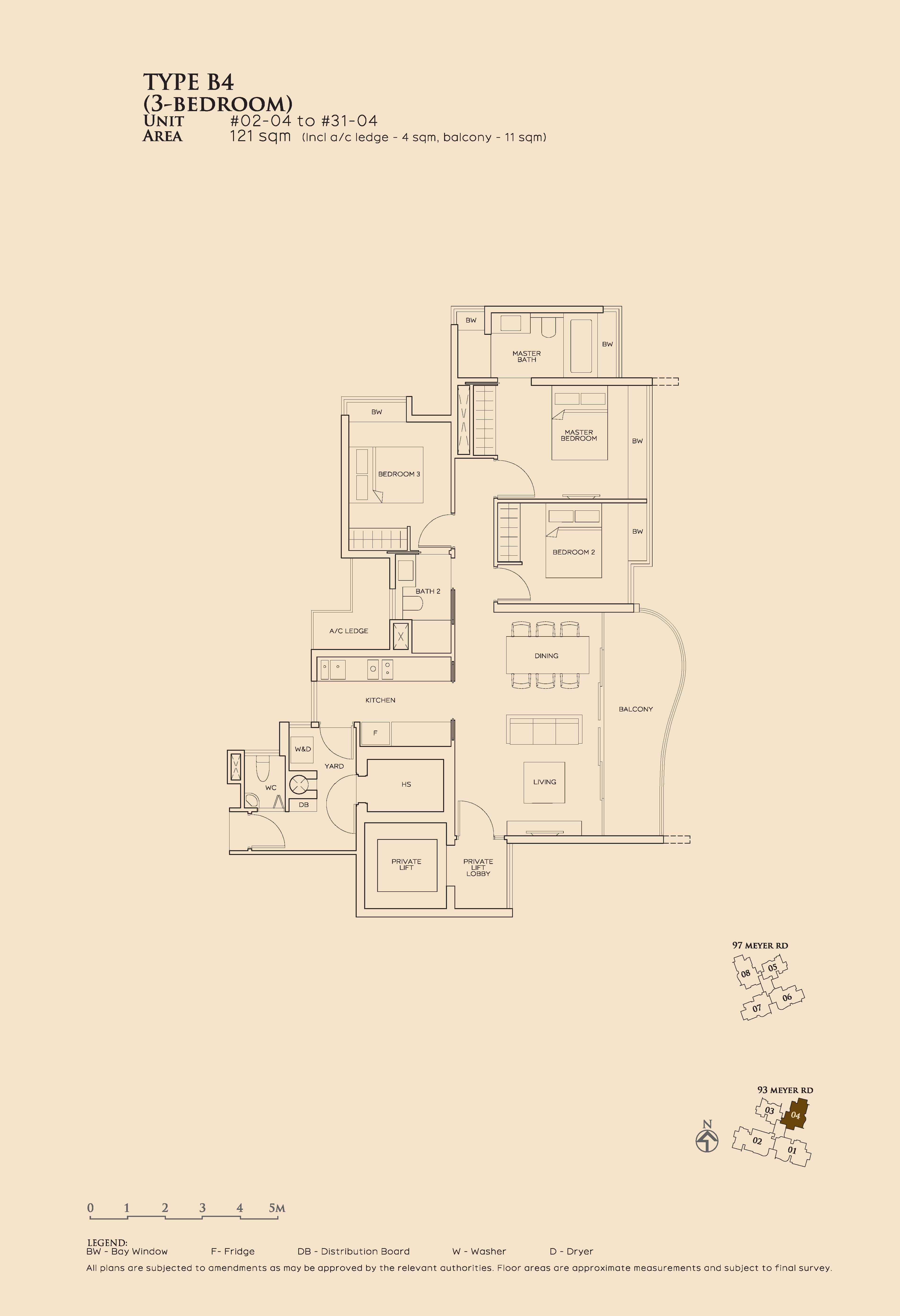 Type B4_3 Bedroom