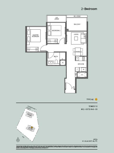 2 Bedroom Type A2