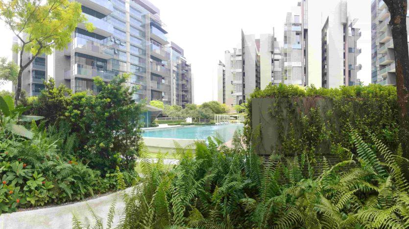Leedon Residence Greenery