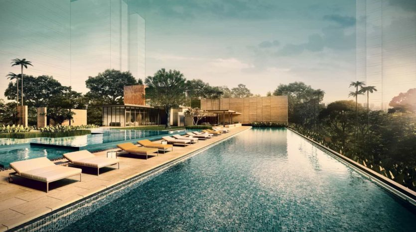 Amber 45 50M Lap Pool from PropertyAsk.sg