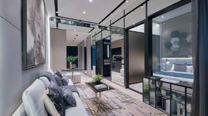 luxurious design at 3 cuscaden 1bedroom unit