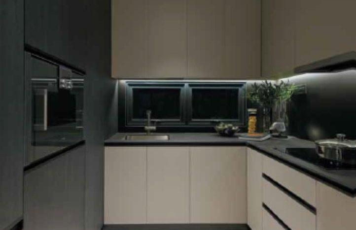 functional kitchen in 3 cuscaden units