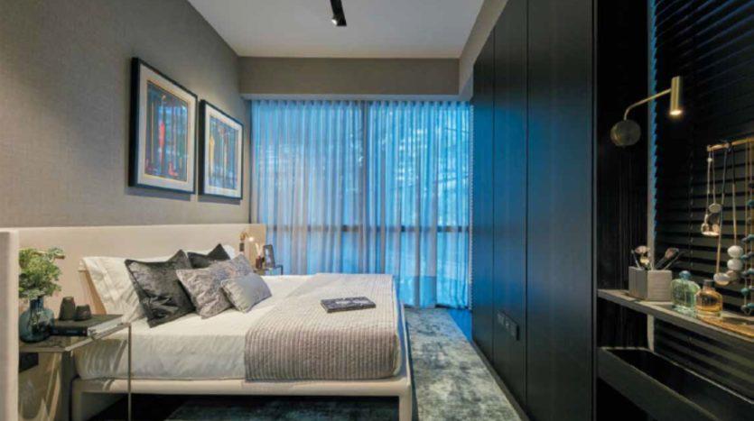 2 bedrooms typical lauout of cuscaden condo