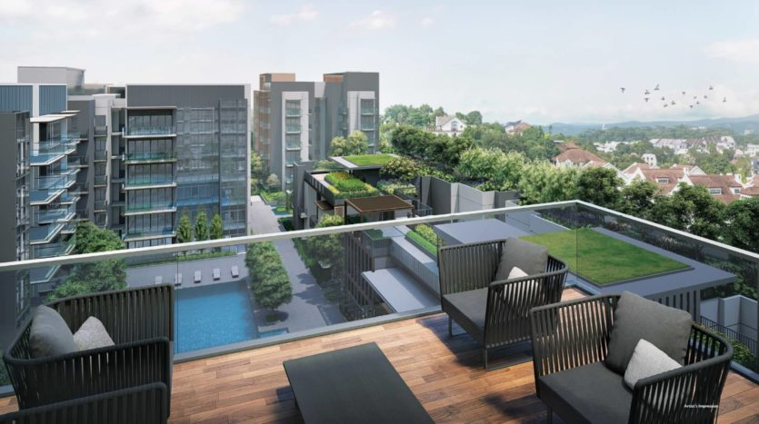 Sky Terrace at Fourth Avenue Residences
