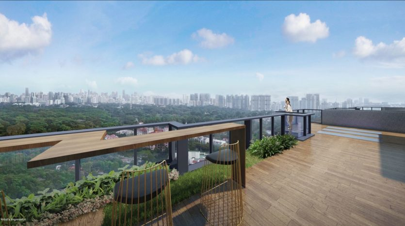 roof top viewing lounge at_wilshire_residences