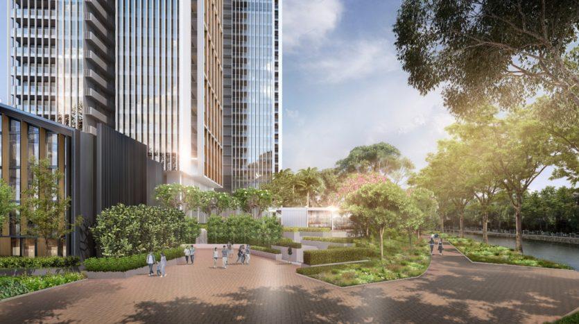 Riviere Promenade area along Singapore River