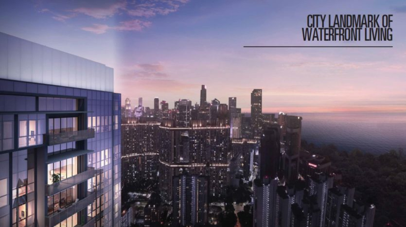 sky everton condo is facing the new singapore waterfront development