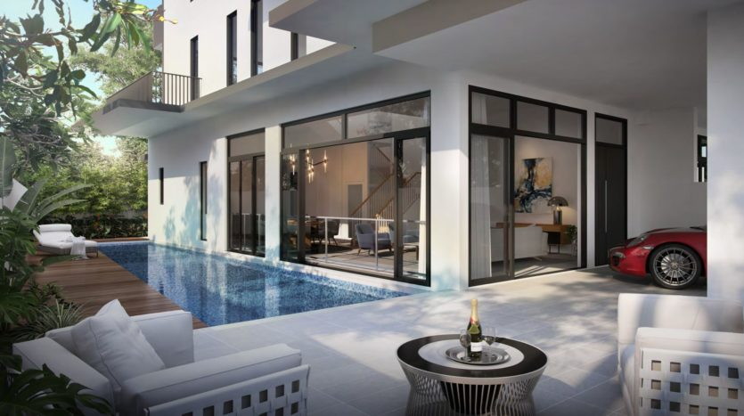 luxus hills landed corner with swimming pool